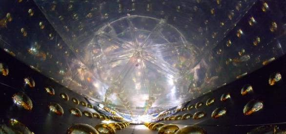 The Daya Bay Antineutrino Detector. Public Domain