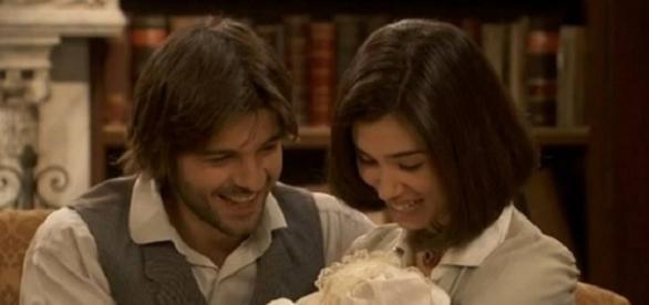 Maria e Gonzalo ne Il Segreto.