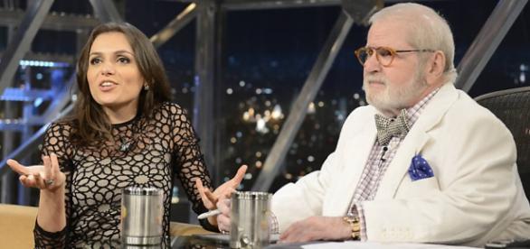 Monica Iozzi quer deixar o Vídeo Show