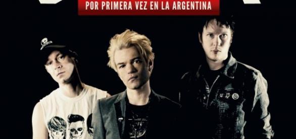 Promoción del show en Buenos Aires
