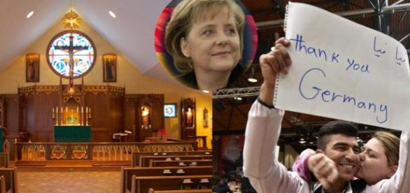 Sacrilegiu într-o biserică din Germania