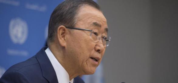 Secretario general de la ONU, Ban Ki Moon