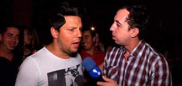 Thiago contou a novidade no programa TV Fama