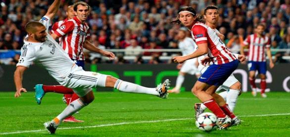Atlético y Real Madrid se repartieron los puntos