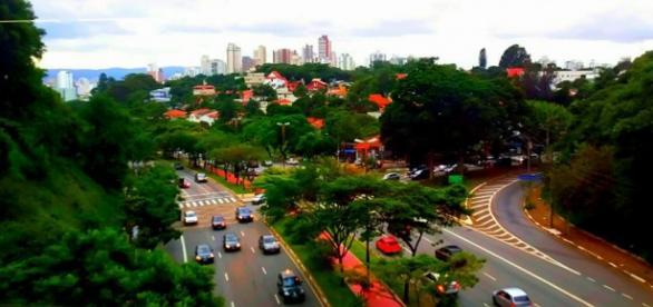 Avenida Sumaré, na Zona Oeste de São Paulo.