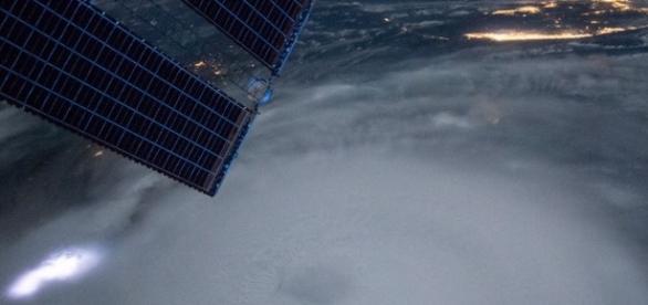 Foto tirada por um satélite do furação Joaquin!
