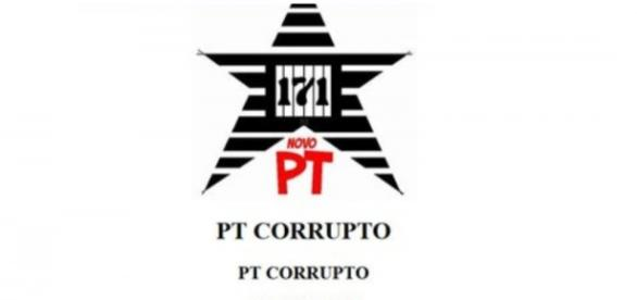 Hackers chamam o PT de partido corrupto