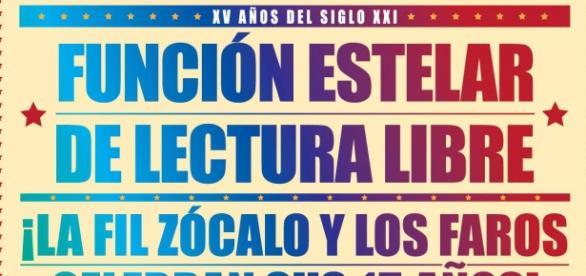La FIL Zócalo y La Red de Faros, celebran juntos.
