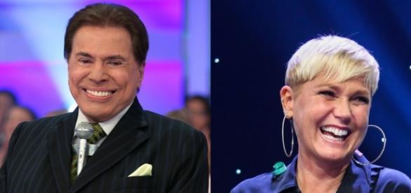 Silvio Santos e Xuxa (Foto/Montagem)