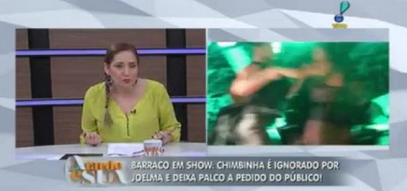 Sônia Abrão esculacha Joelma ao vivo: 'ridícula'
