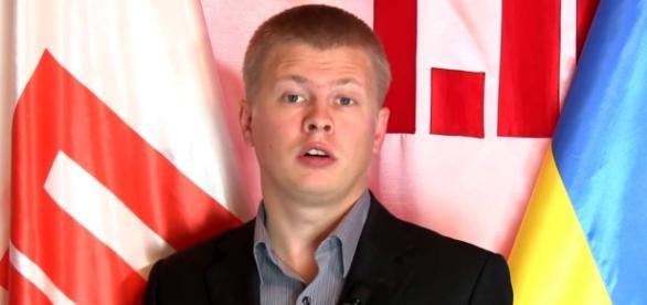 Ukraiński dziennikarz Rościsław Szaposznikow