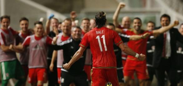 Bale quiere estar en Francia. Foto: Reuters.
