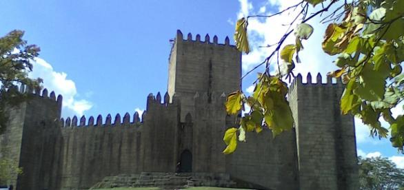Castelo de Guimarães é um dos magníficos