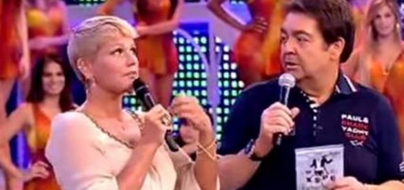 Faustão manda produtor trabalhar com Xuxa