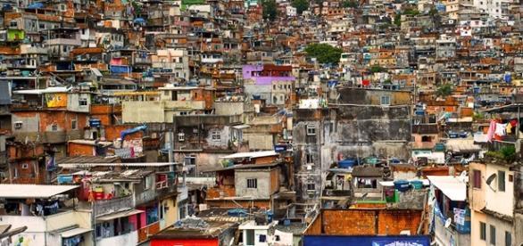 Favela Caramujo, local onde aconteceu a tragédia!