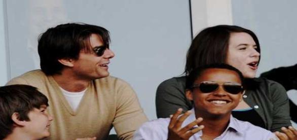 Tom Cruise e la figlia Isabella