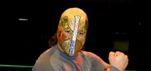 Ángel de oro, por el Negro Casas (Cortesía: CMLL)