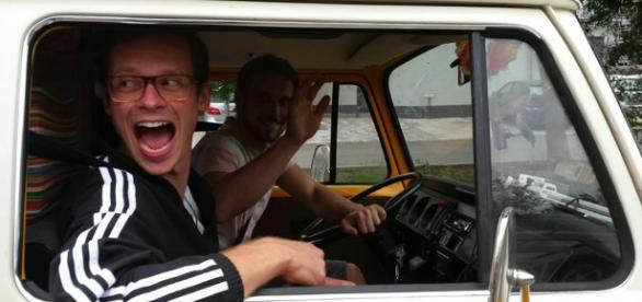 "Derk und Sebastian starten ""Cruisetopia"""