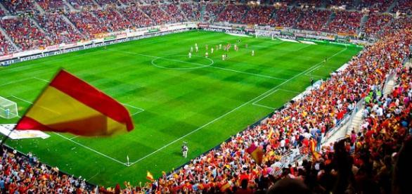 Las Gaunas se llenará para el partido de España.
