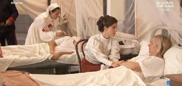 Anticipazioni Una vita: l'epidemia del tifo
