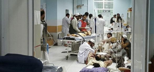 Bombardeo estadounidense en hospital afgano