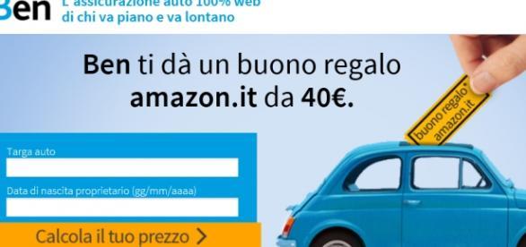 Buono amazon di 40 euro per i nuovi clienti.