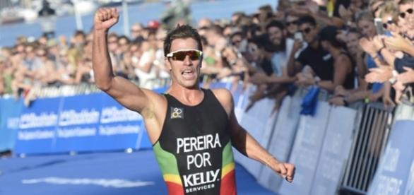 João Pereira, o triatleta português
