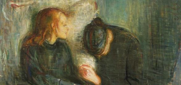 """""""La niña enferma"""", Munch (1885-1886)"""