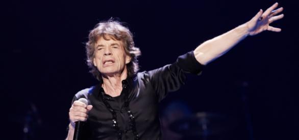 Mick Jagger em apresentação dos Rolling Stones