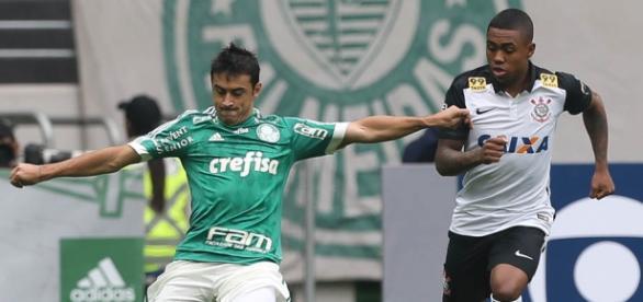 Robinho tenta lançamento no Allianz Parque