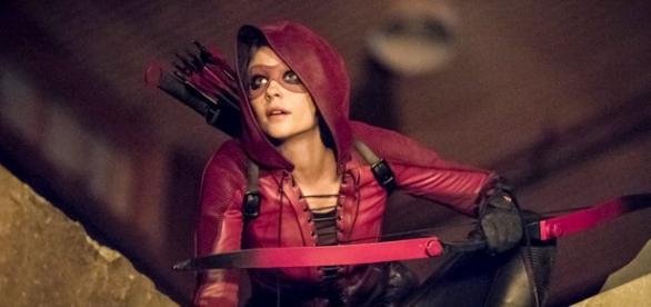 Thea Queen, Freccia Rossa in Arrow 4