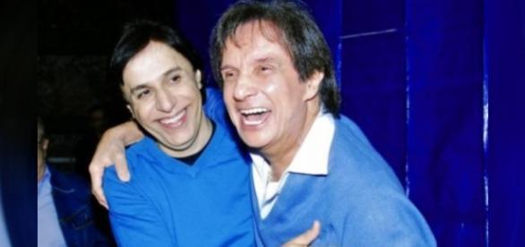 Tom Cavalcante e Roberto Carlos são grandes amigos