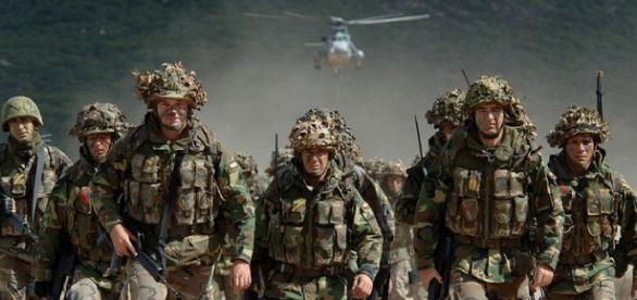 Trupele NATO impanzesc Europa de teama Rusiei