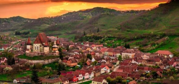 Biertan village, judetul Sibiu, Romania