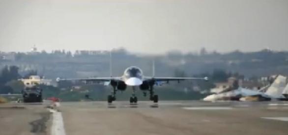 captura de pantalla aviones rusos