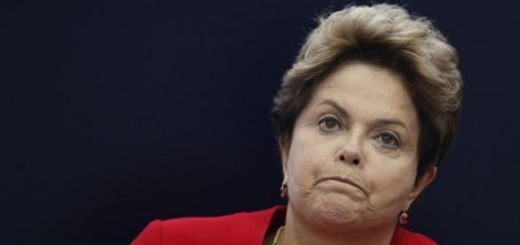 Dilma Rousseff em situação grave.