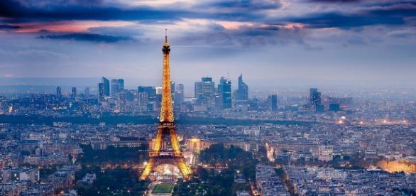 'La ciudad de la luz', París en imagen de archivo