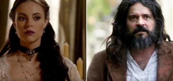 Melissa é irmã de Bernardo e tia de Lívia