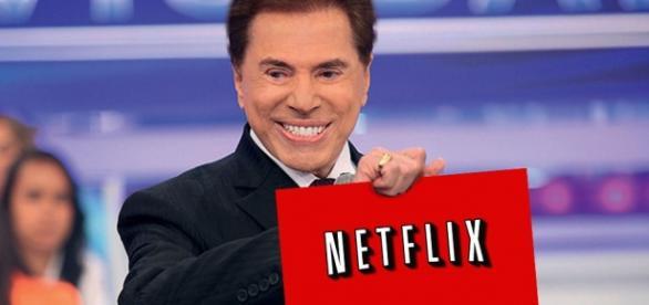 Silvio Santos faz acordo com a Netflix