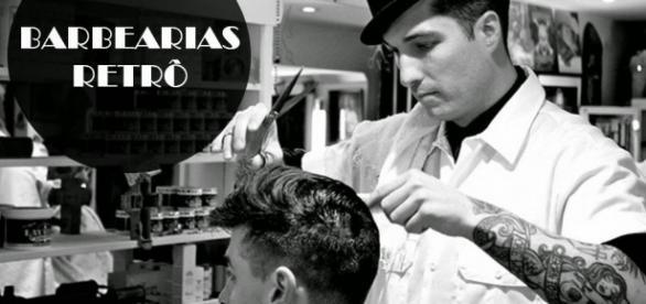 Barbeiros modernos aumentam o leque de serviços