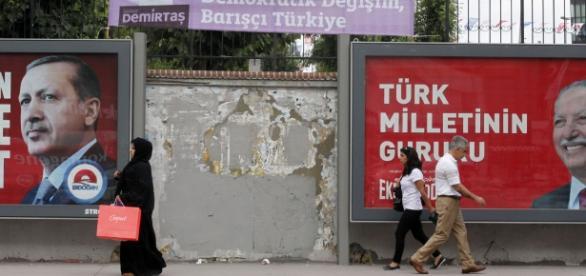 Campaña a la presidencia turca de 2014.