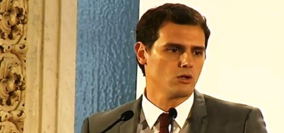 Captura de pantall Albert Rivera