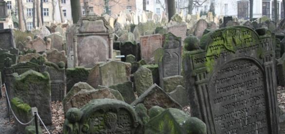 Cementerio Judío de Praga, en la República Checa