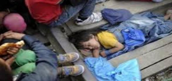 Crise migratória na Europa(Foto/Reprodução)
