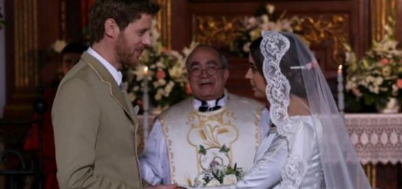 Il Segreto: Mariana e Nicolas si sposano.