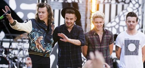 Integrantes da BoyBand One Direction.