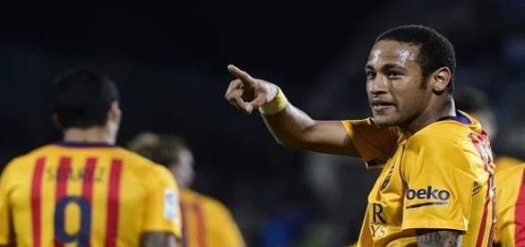 Neymar fue el jugador más destacado del Barça
