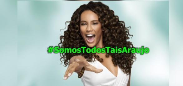 Taís Araújo sofre racismo na internet