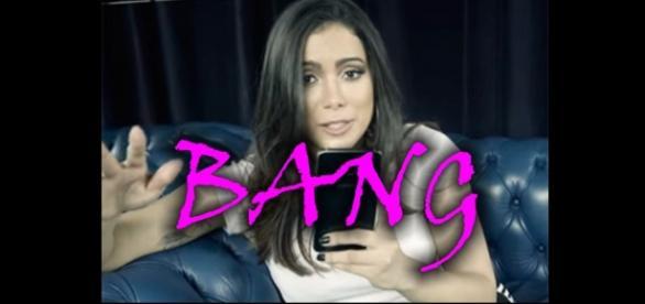 Anitta ensina coreografia de 'Bang'