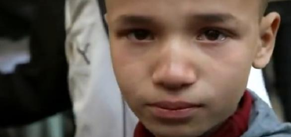 Capt de Pantalla La mirada de un niño sirio